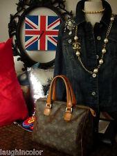 Vintage Authentic LOUIS VUITTON SPEEDY FC Handbag Purse Tote Shoulder Bag LV