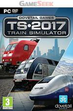 PCCD TRAIN SIMULATOR 2017 - PC BRAND NEW FREE DELIVERY
