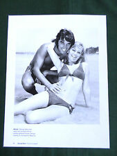 GEORGE BEST- SUSAN GEORGE  - 1 PAGE PICTURE - CLIPPING /CUTTING - #15