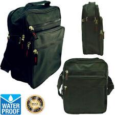 Unisex Large Waterproof Canvas Work Business Messenger Shoulder Belt Hip Bag