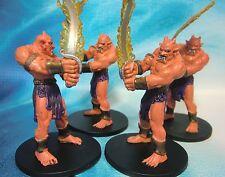 Dungeons & Dragons Miniatures Lot  Efreeti Flamestrider Genie !!  s101