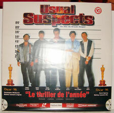 Laser Disc - Usual Suspects Tbe