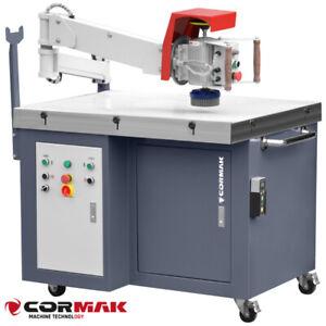 CORMAK SZLIFMASTER-E Blechentgratmaschine + Magnettisch  4.95kW 1400 m3 / h