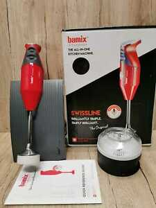 Bamix Hand Blender in Red model M180