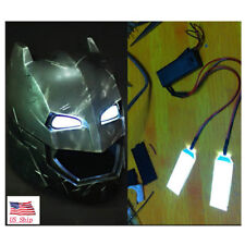 1:1 Led Light Eyes For Ironman/ Batman/Black Panther Helmet DIY Eyes Mask USA