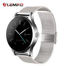 Lemfo K88H Bluetooth Podómetro Ritmo Cardiaco Reloj Inteligente Para Android IOS