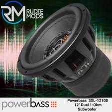 """Powerbass 3XL-1210D 12"""" Subwoofer 2000 Watts Max"""