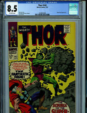 Mighty Thor # 142 CGC 8.5 VF+ 1967  Marvel Comic Amricons K7