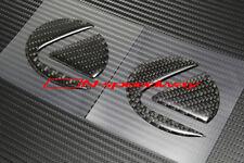 For 2011-16 Scion tC Gray Carbon Fiber Hood and Trunk Emblem Decal Insert 2pcs