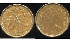 CANADA 1 cents 1989  ( it )