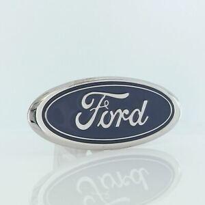 Ford Logo Trailer Hitch Plug (Chrome)
