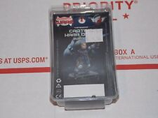Brand New METAL Vanguard Captain Kara Black Sedition Wars Miniature Complete
