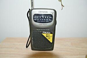 AIWA TV/FM/AM RECEIVER CR-AS11 VINTAGE RARE Portable NO TEST 191113