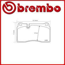 07.B314.83#1 PASTIGLIE FRENO ANTERIORE SPORTIVE BREMBO SPORT AUDI A3 Sportback (