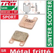 Plaquettes frein Avant Sport TRW MCB535SR Peugeot 50 Trekker Metal-X S1A 01-