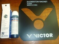 VICTOR AC021C racket Stencil ink + AC020 LOGO template