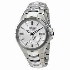 Seiko Men's SRN063 Coutura Kinetic Retrograde Silver-Tone Stainless Steel Watch
