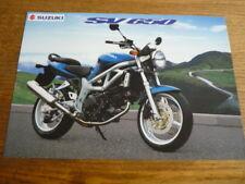 SUZUKI RM ( 80, 125 AND 250) MOTORBIKE BROCHURE 1998/99 - POST FREE (UK)