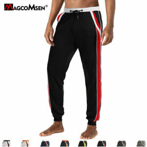 Breath Men's Sports Tapered Casual Pants Gym Running Pants Sweatpants Trousers
