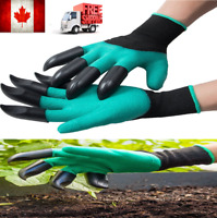 New Garden Gloves Waterproof Working Gloves with Claws For Digging Planting CA