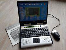 vtech Active Laptop E Kinder Lerncomputer + Anleitung wie NEU
