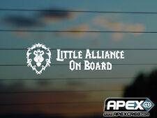 Little Alliance Baby on Board – World of Warcraft Inspired Vinyl Sticker