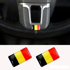LOGO Belgique pour volant jantes aluminium BMW Audi WV
