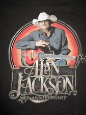 Alan Jackson 25th Anniversary Concert Tour (Xl) T-Shirt