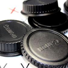 Canon Rear Lens Cover + Camera Body Cap for Canon DSLR SLR Lens