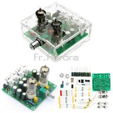 6J2 Valve Pre-amp Tube PreAmplifier Board DIY KIT AC 12V Headphone+Case R/ 6J1