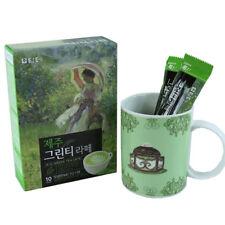 [US SHIP] DAMTUH Jeju Green Tea Latte Sweet Matcha Real Green Tea Powder 10Stick