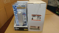 Meridian Bright White Led Light Bulbs 26 W Lot of 4