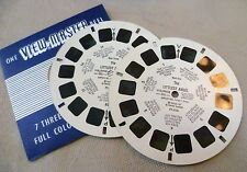 Vintage Viewmaster -Sawyer's Double Reel Set FT-32A&C (B missing) Littlest Angel