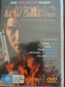 """Inferno - His Strike is Deadly (DVD) Region 4 """"NEW AND SEALED"""""""