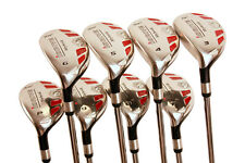 "Left Handed Senior Women's iDrive Hybrid Set (3-PW) Lady ""L"" Flex, Rescue Clubs"