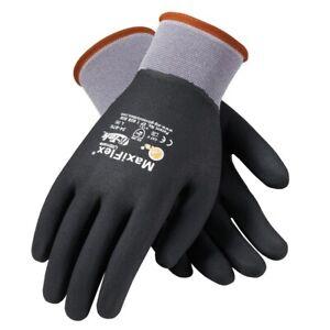 PIP 34-876 MaxiFlex Ultimate Fully Coated Micro Foam Nitrile Gloves Size: SM-XXL