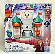 Disney Olaf Slushy Treat Maker w/Real Ice Shaver NIB