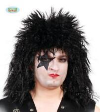 parrucca cantante dei KISS rock rocker rockstar musicista PUNK anni 80 CARNEVALE