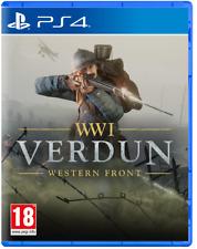 WWI VERDUN PS4 Neuf sous blister