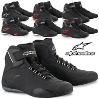 Alpinestars Mens Sektor Motorcycle Street Riding Moto Shoes Vented Light Boots