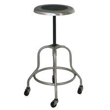 (1) Industrial Wilson Stainless Steel Adjustable Stool (MR11032)