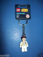 LEGO Keychain 850997 star wars mini figure  key chain - PRINCESS LEIA Hoth