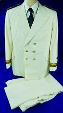 Vintage Romanian Romania Soviet Navy Officer's Parade Tunic Trousers Uniform