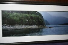 Thomas D. Mangelsen Framed, Matted and Signed print The Point $2,000 value