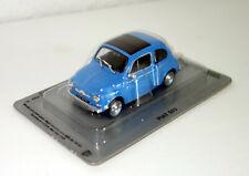 IXO (IST) / De Agostini - Fiat 500 - blau - 1:43 - Modellauto - Auto - NEU