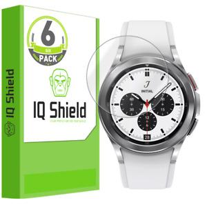 6x IQ Shield LIQuidSkin Screen Protector for Samsung Galaxy Watch 4 Classic 42mm