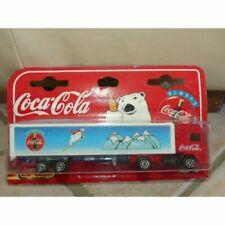 Véhicules miniatures Majorette coca-cola