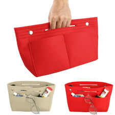 Felt Purse Handbag Organizer Insert Multi pocket Storage Tote Shaper Liner Bag