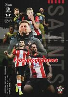 Southampton FC  Special Edition Summer 2020 Programme Joint Issue FREE UK POST