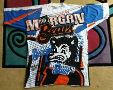 Vintage Michigan Bears university T-shirt  Size XL StateMorgan NCAA rare